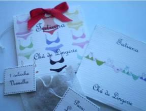 Chá Lingerie convite