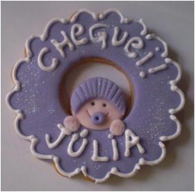Guirlanda lilás