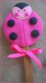 Joaninha Pink palito