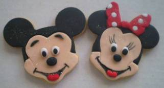 Mickey Minnie rosto