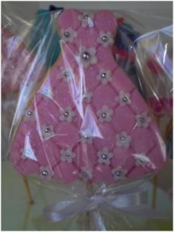 Vestido rosa flor
