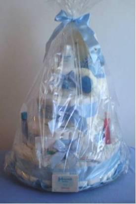 Bolo de Fraldas azul embalado1