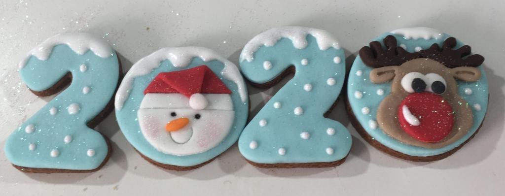 Feliz Natal. biscoitos Natal, biscoitos decorados para o natal, biscoitos decorados para o Ano Novo